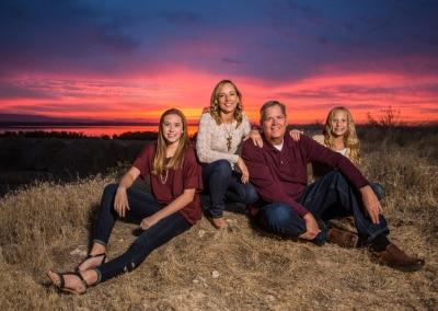 family-photo-sunset-samuel-marvin