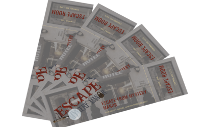 2x $28 Tickets To Escape Mystery Manor